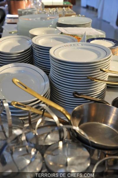 La vaisselle des chefs for Vaisselle de restaurant