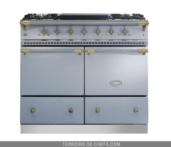 Lacanche fourneau cluny gris faience lacanche r ves de chefs galeries p - Fourneau lacanche prix ...