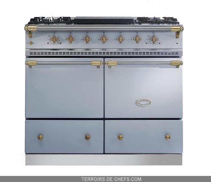 lacanche fourneau cluny gris faience lacanche r ves de. Black Bedroom Furniture Sets. Home Design Ideas