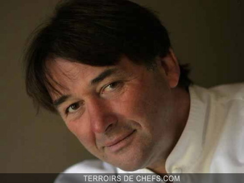 Portrait De Chef Cuisinier Jean Pierre Vigato