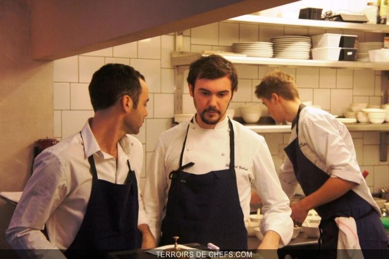 Bertrand gr baut enflamme la cornue un pur moment de - La cuisine de bertrand ...