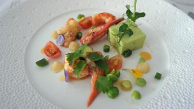 Recettes de chefs autour de la fleur de sel de camargue for Restaurant la maison blanche montpellier