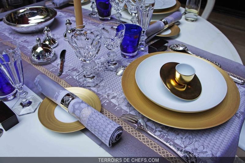 Le plaza ath n e c l bre les arts de la table la fran aise - La table des chefs cambrai ...