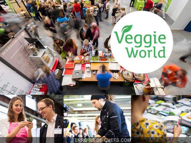 Veggie world paris 2016 for Salon vegan paris