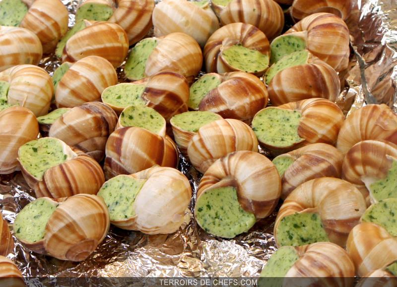 Bourgogne le pays des escargots - Cuisiner les escargots de bourgogne ...