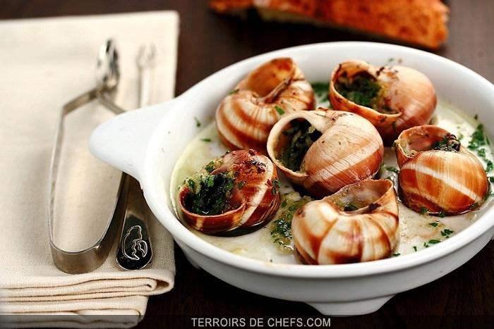 L escargot mets embl matique de la gastronomie fran aise - Les grands chefs de cuisine francais ...
