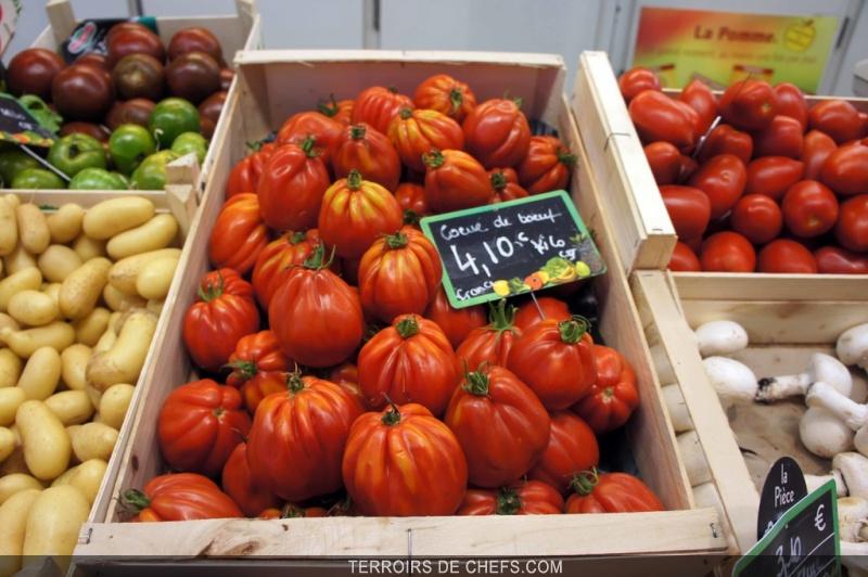 La tomate conseil et recettes de chef eric fr chon alain - Cuisiner le coeur de boeuf ...