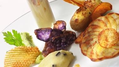 Florilège de pommes de terre du chef Alexis Pelissou