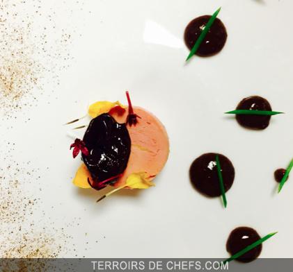 recette du foie gras fume au foin et chutney de pruneaux d 39 agen par la chef fanny rey. Black Bedroom Furniture Sets. Home Design Ideas