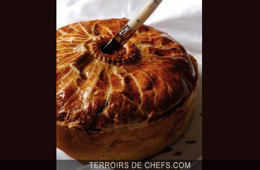 p t en croute de canard au foie gras eric sapet de chefs recettes terroirs de chefs. Black Bedroom Furniture Sets. Home Design Ideas