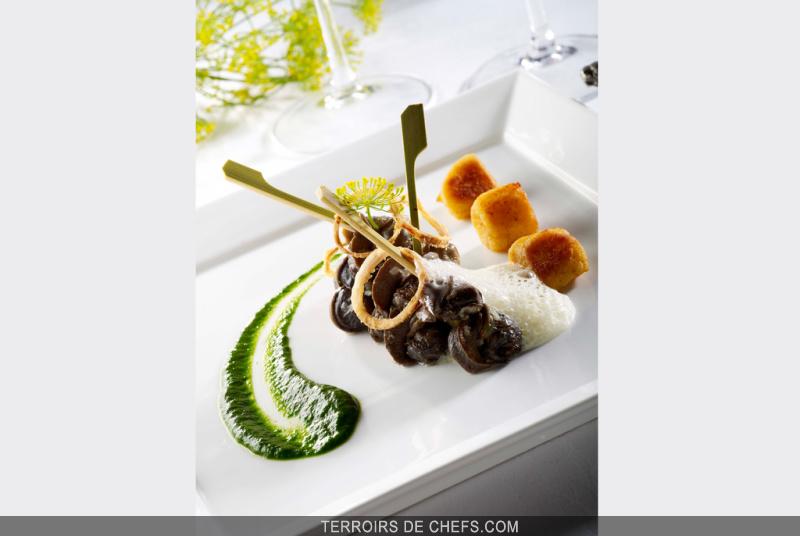 Recette d 39 escargots en fricass e - Cuisiner les escargots de bourgogne ...