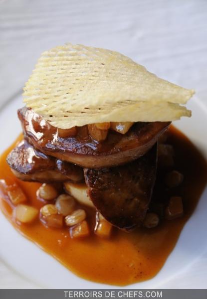 Foie gras de canard po l - Preparation du foie gras ...
