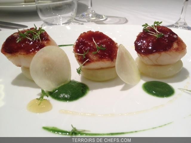 Recette Chef Frederic Duca Coquilles Saint Jacques Citron Soja