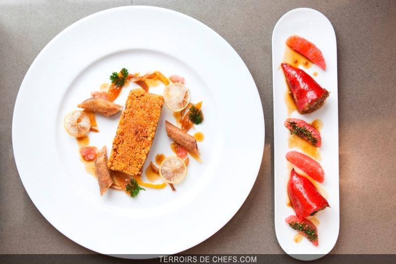 Recette du chef fr d ric vardon d 39 agneau aux agrumes - Recette de cuisine gastronomique de grand chef ...