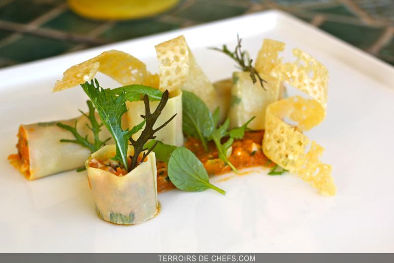 Cannelloni de potiron - Recette de cuisine gastronomique francaise ...