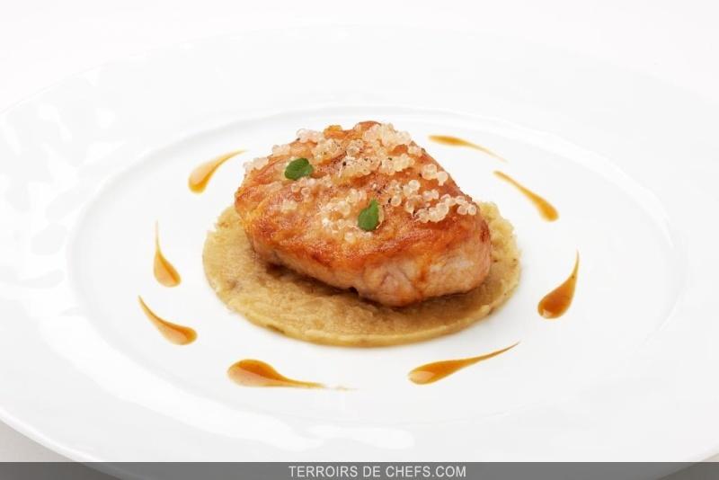 Ris de veau et langoustines aux salsifis et gingembre mariage aigre doux pour sublimer ce roi - Comment cuisiner des ris de veau ...