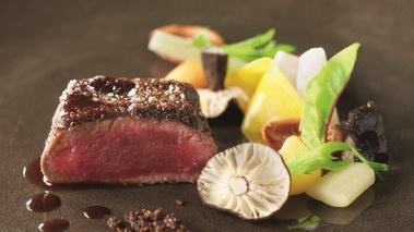 Recette du chef r gis marcon chevreuil et son pralin de - Recette de cuisine gastronomique de grand chef ...