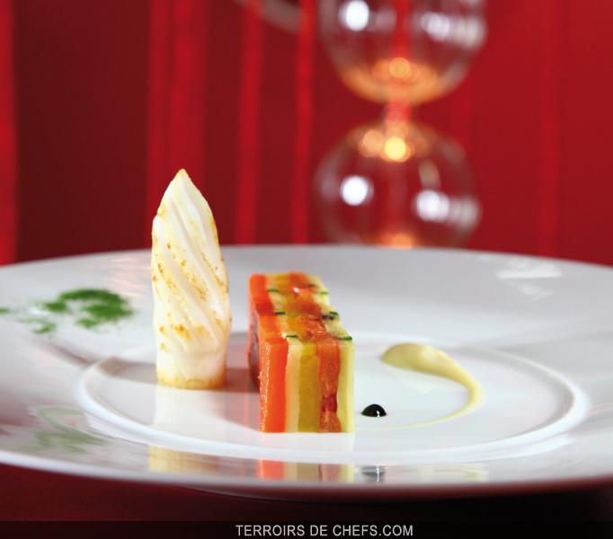 Tian de l gumes seiche grill e la plancha recette du - Recette de cuisine gastronomique de grand chef ...