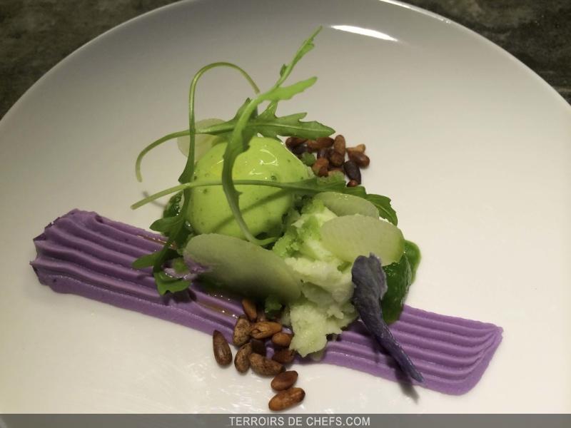 Dessance le premier restaurant de desserts l assiette - Decoration d assiette gastronomique ...