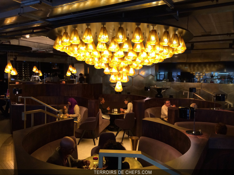 Ouverture d\'Eclectic à Paris restaurant décoré par le célèbre ...