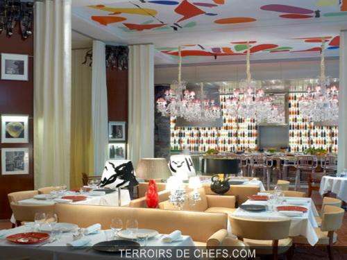 La cuisine au royal monceau la table a fait l v nement for Restaurant le jardin royal monceau