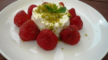 Wanderlust - Fraises, fromage blanc, pistaches CR Foodmark